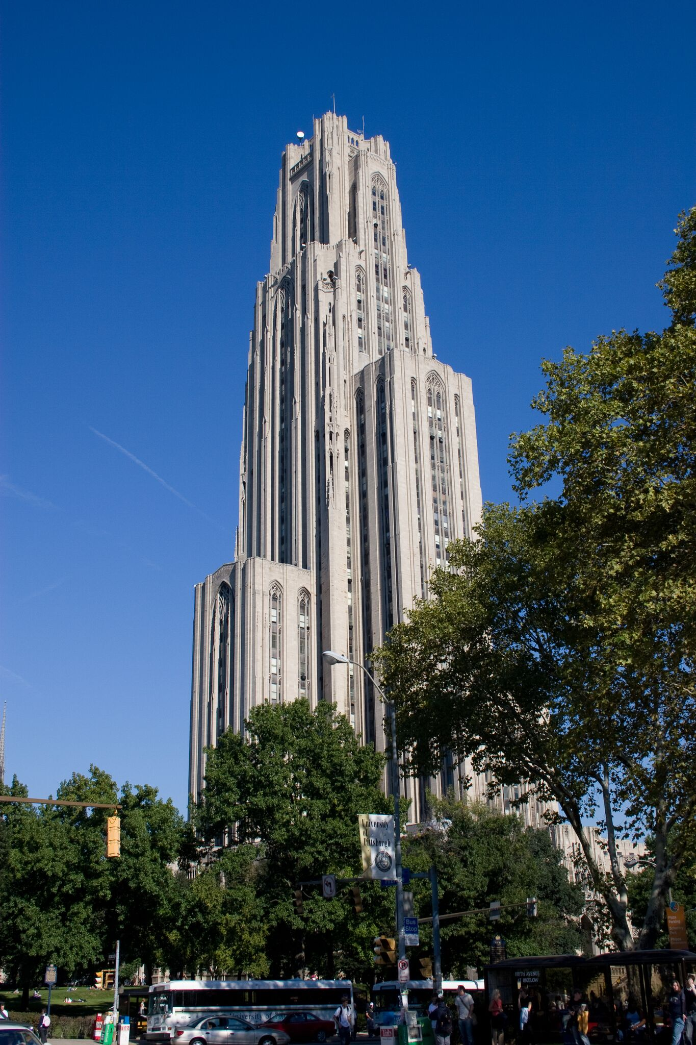 Cathedral of Learning, Oakland. Pittsburgh, PA. Photo taken by Dr. Neal Ryan.